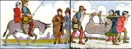 Kisah Ayah, Anak dan Keledai